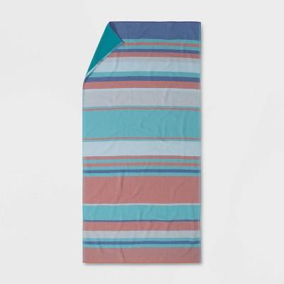 Verigated Striped Beach Towel - Opalhouse™