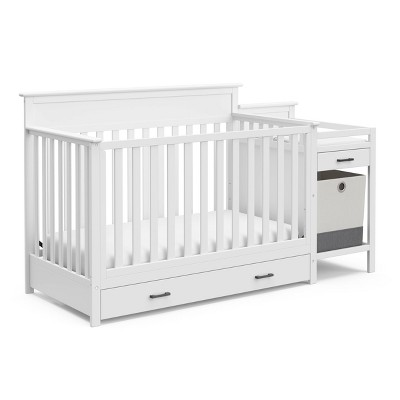 Storkcraft Arizona All-in-One Convertible Crib and Changer - White