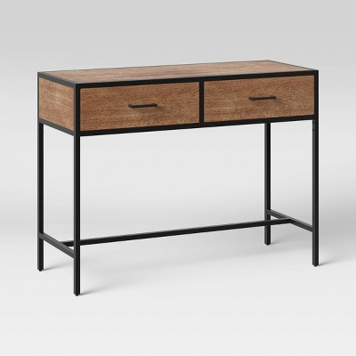 Hilltop Console Table with Drawers Brown - Project 62™