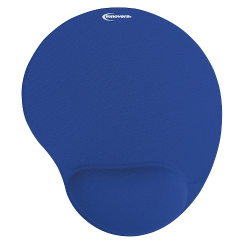Innovera® Mouse Pad w/Gel Wrist Pad, Nonskid Base, 10-3/8 x 8-7/8, Blue - image 1 of 1