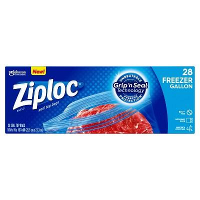 Food Storage Bags: Ziploc Freezer