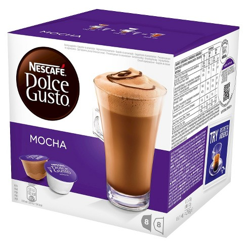Nescafe Dolce Gusto Mocha Medium Roast - Coffee Capsules - 8ct - image 1 of 4