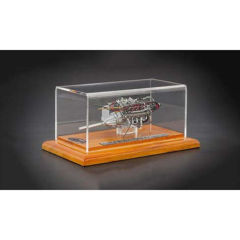 Engine With Display Showcase From 1960 Maserati Tipo 61 Birdcage 1