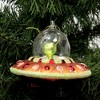 """Holiday Ornament 4.0"""" Ufo Ornament Spaceship  -  Tree Ornaments - image 3 of 3"""