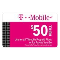 T-Mobile Prepaid Refill eCard