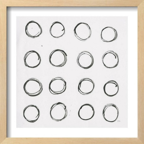 Circle Element 3 by Melissa Averinos Framed Art Print - Art.com - image 1 of 3
