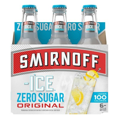 Smirnoff Ice Zero Sugar Original - 6pk/11.2 fl oz Bottles