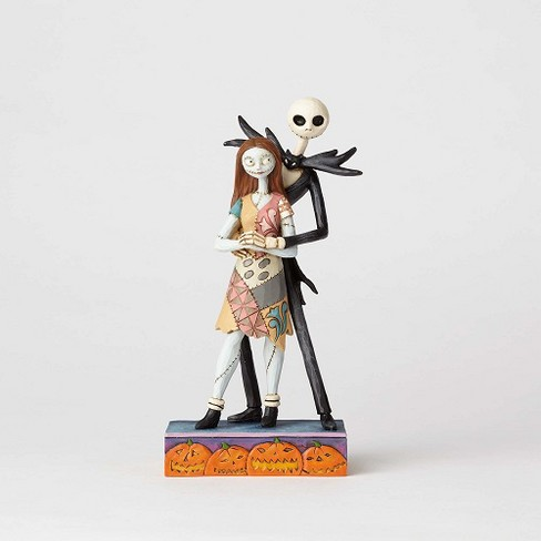 Enesco - Department 56 - Disney Traditions Brands Nightmare Before Christmas Jack and Sally Figurine, 8.6-inches - image 1 of 2