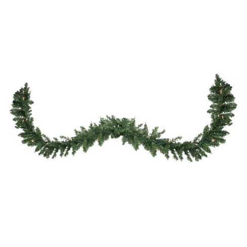 Target Christmas Commercial.Northlight 25 X 17 Pre Lit Buffalo Fir Commercial Artificial Christmas Garland Clear Lights