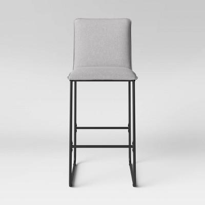 """29"""" Upholstered Barstool w/Metal Frame - Room Essentials™"""