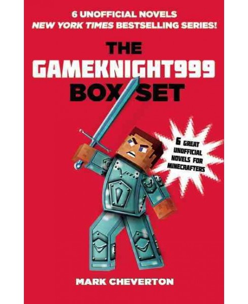 Gameknight999 Box Set : 6 Great Unofficial Minecrafters (Paperback) (Mark Cheverton) - image 1 of 1