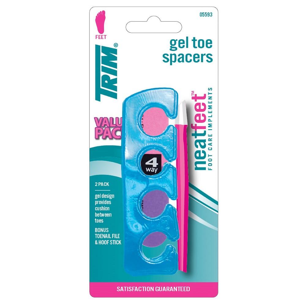 Trim Neat Feet Gel Toe Spacers Bonus Pack