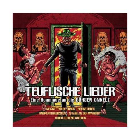 Teuflische Lieder - Tribute To Bohse Onkelz (CD) - image 1 of 1