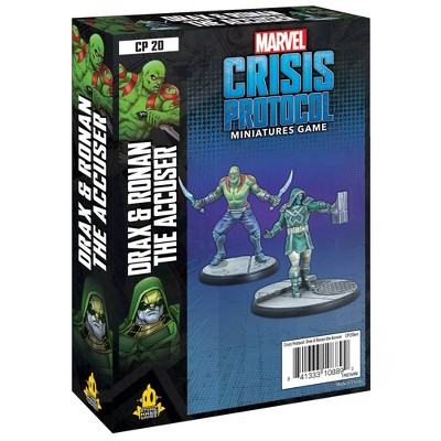 Marvel Crisis Protocol Miniatures Game: Drax and Ronan the Accuser Character Pack