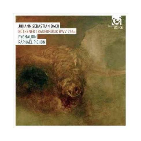 Pygmalion - Bach: Kothener Trauermusik, BWV244a (CD) - image 1 of 1