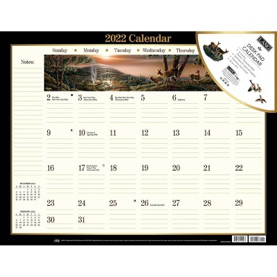 2022 Desk Pad Calendar Terry Redlin - Lang