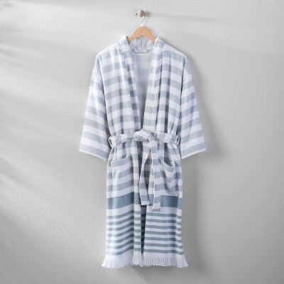 Striped Cotton Robe S/M - Hearth & Hand™ with Magnolia