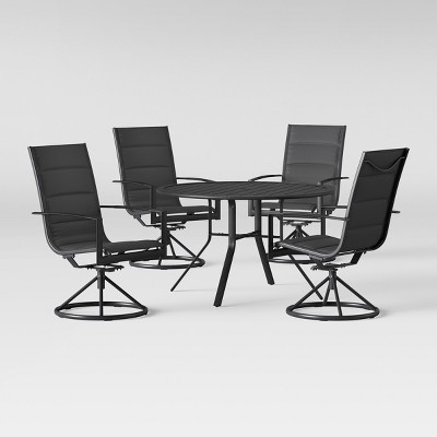 Avalon 5pc Sling & Steel Patio Dining Set - Project 62™