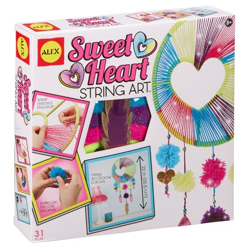 ALEX Toys Craft Sweetheart String Art - image 1 of 11