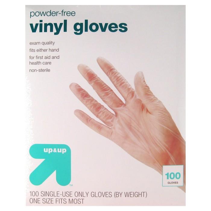 Vinyl Exam Gloves - 100ct - Up&Up™ - image 1 of 1
