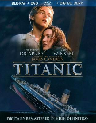 Titanic (4 Discs)(Includes Digital Copy)(Blu-ray/DVD)(W)(Widescreen)