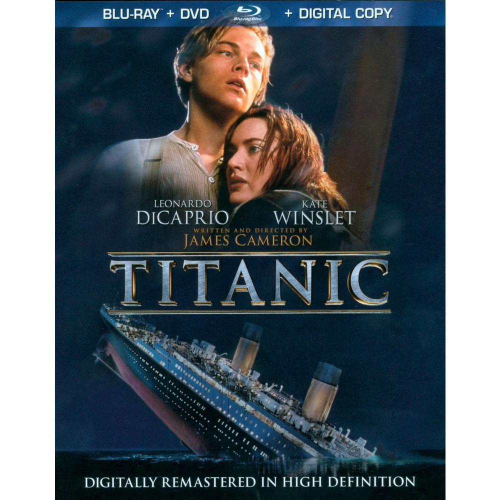 Titanic (4 Discs) (Includes Digital Copy) (Blu-ray/Dvd) (W) (Widescreen)