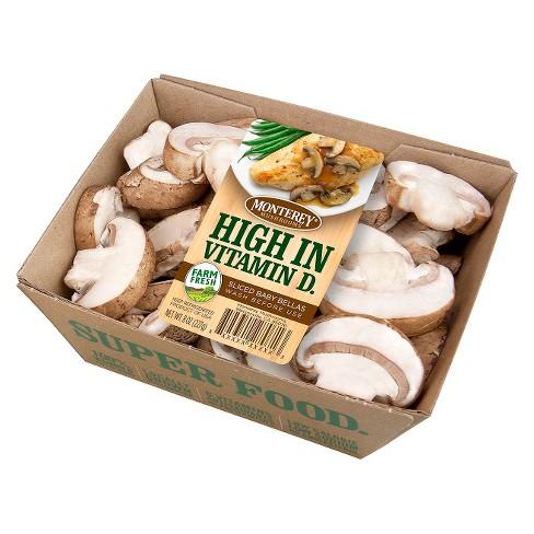 Giorgio Baby Bella Sliced Mushrooms - 8oz - image 1 of 1