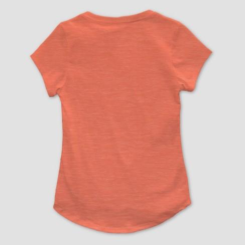 974baa59 Toddler Girls' Moana Short Sleeve T-Shirt - Coral : Target