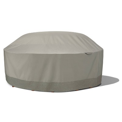 """106"""" Outdoor Round Table & Chair Cover with Integrated Duck Dome - Duck Covers"""