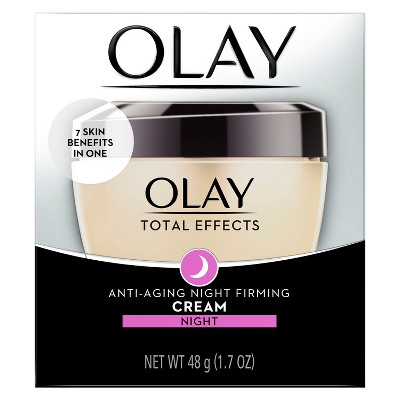 Olay Total Effects Night Firming Facial Moisturizer Treatment - 1.7 fl oz