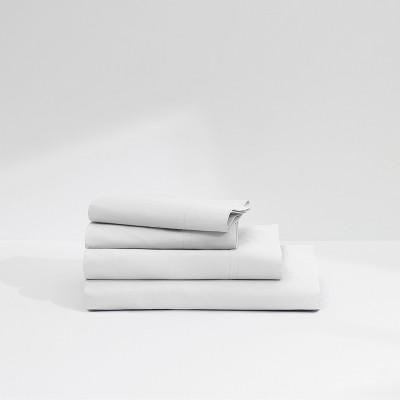 Casper Twill 360TC Sheet Set - White (King)