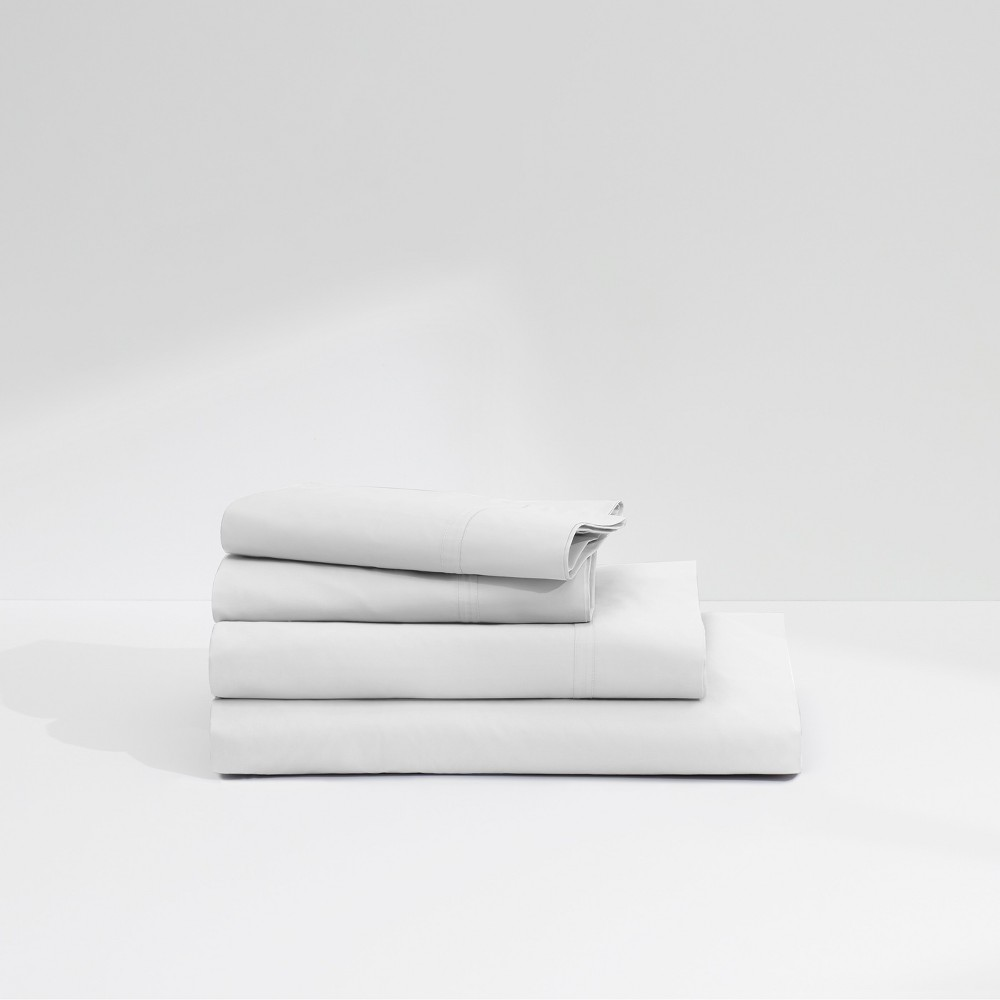Image of Casper Twill 360TC Sheet Set - White (California King)