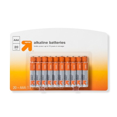 AAA Batteries - 20ct - up & up™