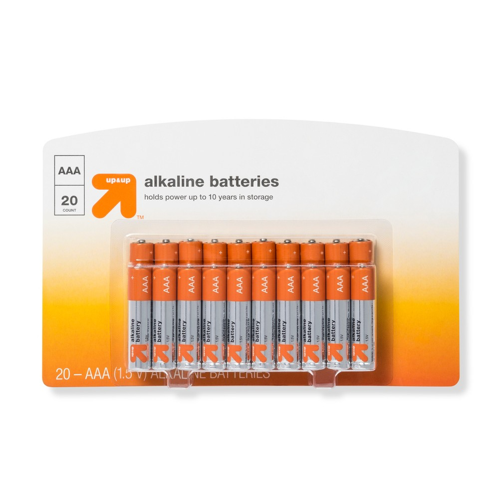 Aaa Batteries - 20ct - Up&Up Aaa Batteries - 20ct - Up&Up
