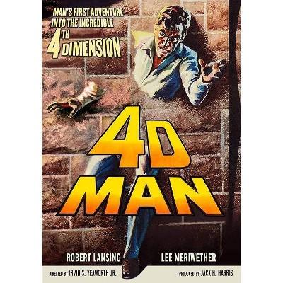 4-D Man (DVD)(2019)