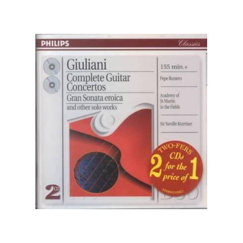 Giuliani - Giuluani:Complete Guitar Ctos & Other (CD) - image 1 of 1