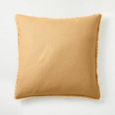Euro Heavyweight Linen Blend Comforter Sham Honey - Casaluna™