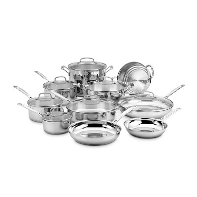 Cuisinart Chef's Classic 17pc Stainless Steel Cookware Set - 77-17N