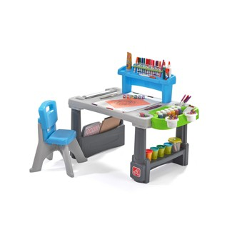 Step2 Deluxe Creative Projects Art Desk