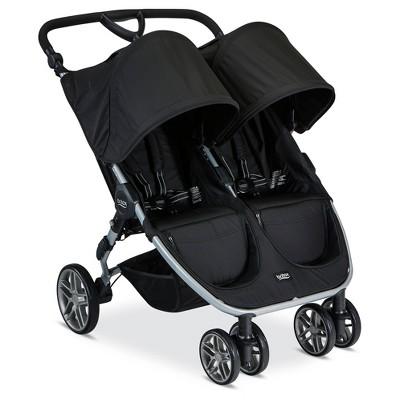 Britax® 2017 B-Agile Double Stroller-Black