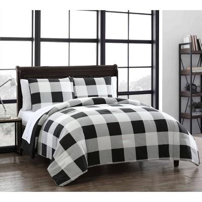 Buffalo Plaid 7pc Comforter Set - Geneva Home Fashion