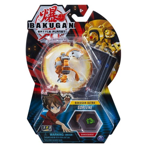"""Bakugan Ultra Goreene 3"""" Collectible Action Figure and Trading Card - image 1 of 4"""