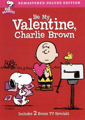 Be My Valentine Charlie Brown (Deluxe Edition) (DVD)