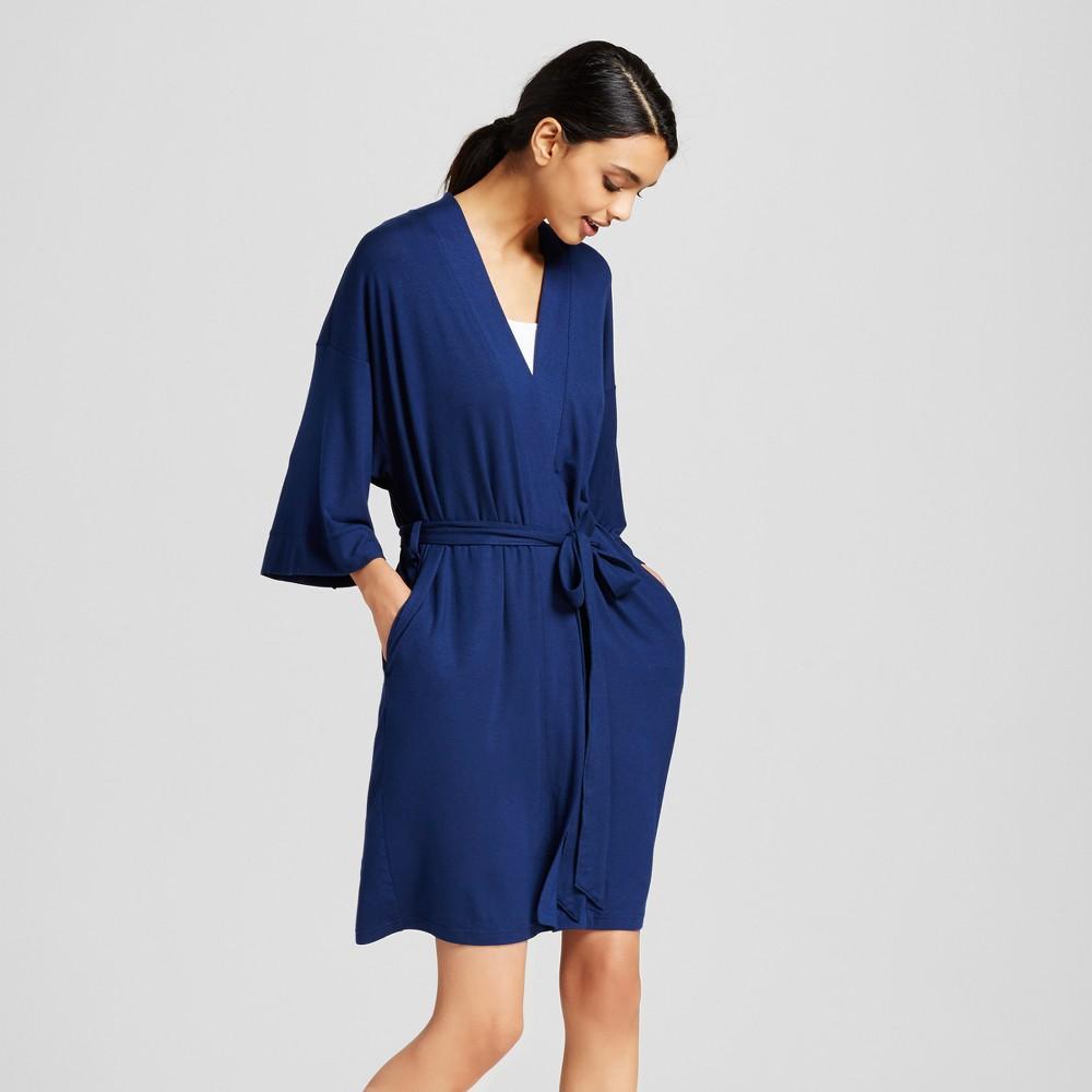 Women's Robes - Nighttime Blue M/L, Dark Blue