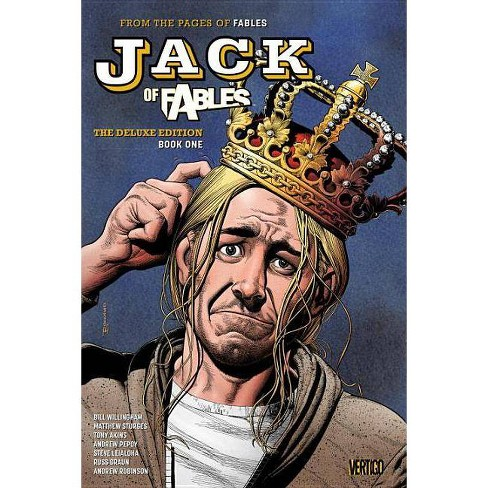 Jack of Fables: The Deluxe Edition Book One - by  Bill Willingham (Hardcover) - image 1 of 1