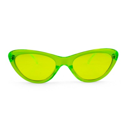 Women's Transparent Cateye Sunglasses   Wild Fable™ Yellow by Wild Fable