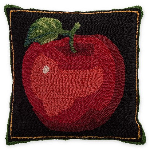 Indoor Outdoor Apple Throw Pillow Plow Hearth Target