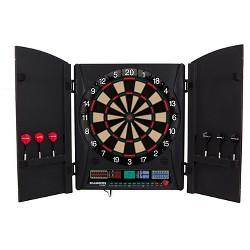 Bullshooter™ Maurader 5.0 Electronic Cabinet and Dartboard Set