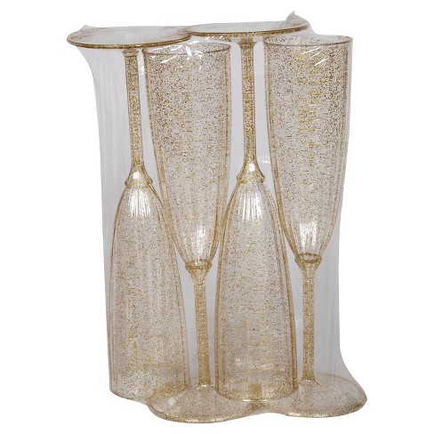 4ct Gold Champagne Flute - Spritz™ - image 1 of 1