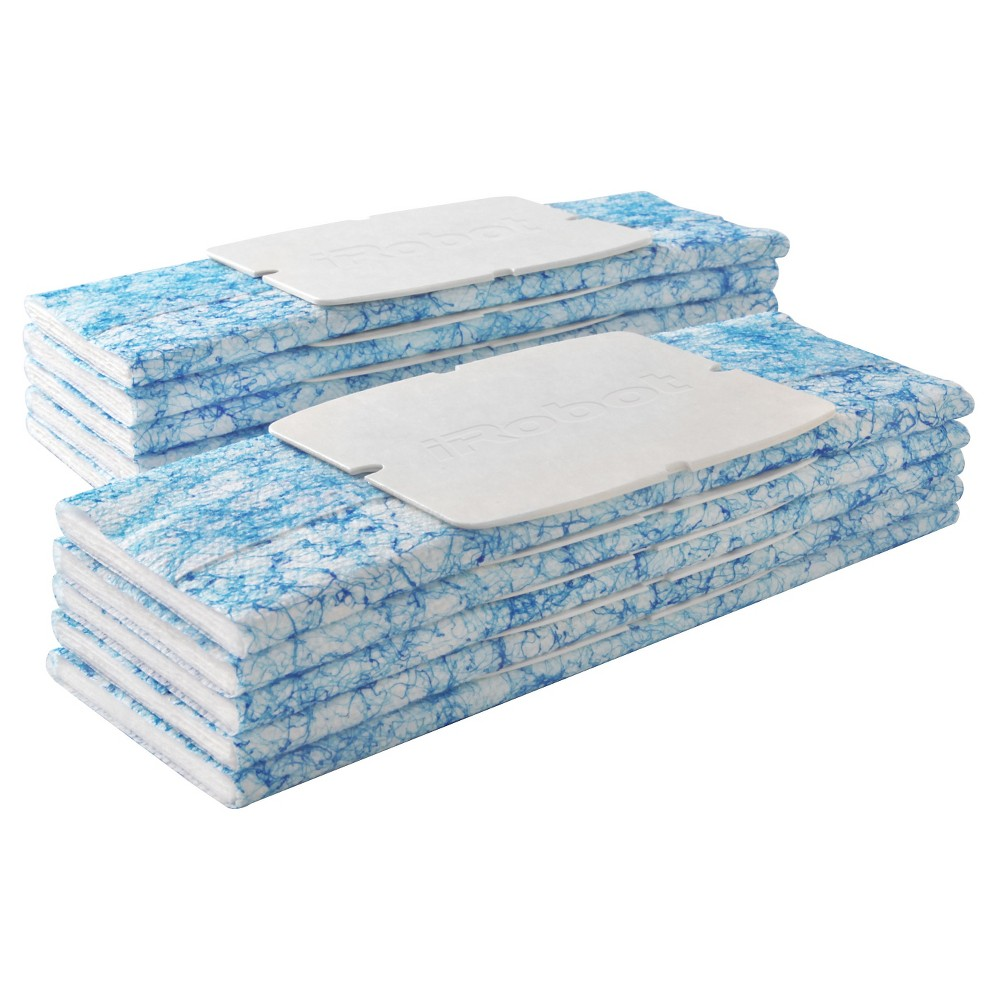 Image of iRobot Braava jet Wet Mopping Pads, 10ct, Blue